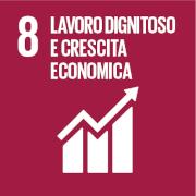 Obiettivi per lo sviluppo sostenibile - 8: lavoro dignitoso e crescita economica