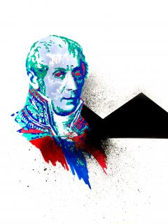 Alessandro Volta by Silvio Curti - Out of the Blue